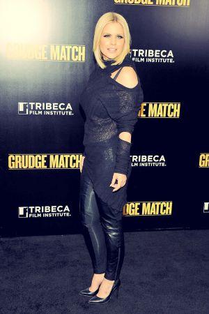 Carrie Keagan Attending the Grudge Match screening