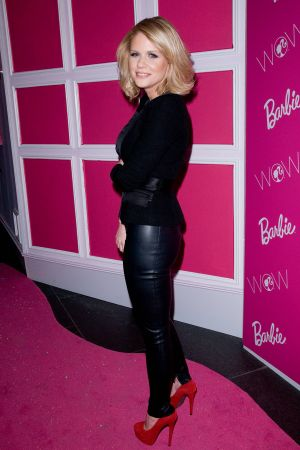Carrie Keagan Barbie The Dream Closet Cocktail Party at David Rubenstein Atrium in NY