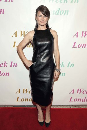 Carrie Lazar arrives for the Premiere Of Tanner Gordon Productions A Week In London