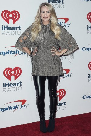 Carrie Underwood attends 2018 iHeartRadio
