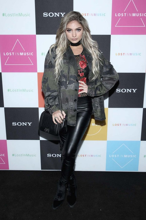 Carrington Durham attends Sony's Lost in Music Launch