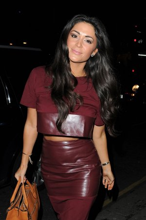 Casey Batchelor seen leaving Raffles club Chelsea