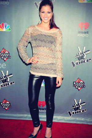 Cassadee Pope at The Voice Season 3