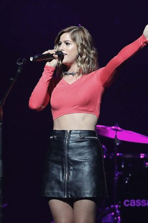 Cassadee Pope performs at Band Against Cancer