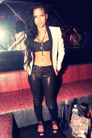 Cassie Ventura in Miami Beach