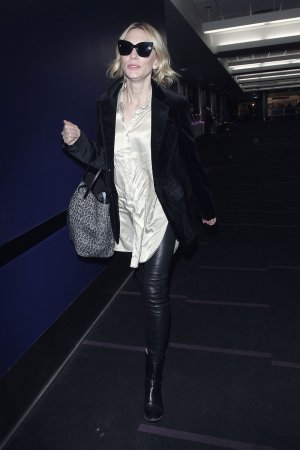 Cate Blanchett seen at LAX Airport