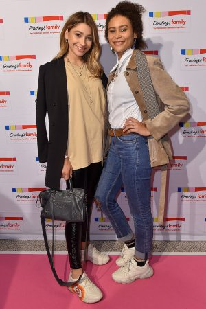 Catharina Maranca & Luna Feline Dzek Dukadji attend Ernsting's Family Fashion Show
