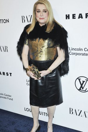Catherine Deneuve attends Evening Honoring Louis Vuitton