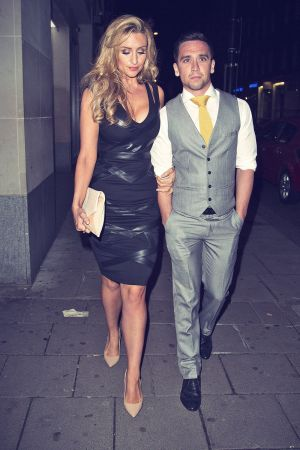Catherine Tyldesley at Mayfair Club