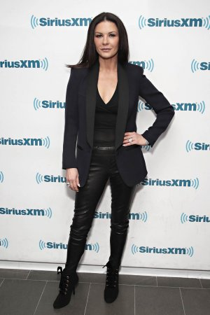 Catherine Zeta-Jones visits the SiriusXM Studios for the 'Town Hall'