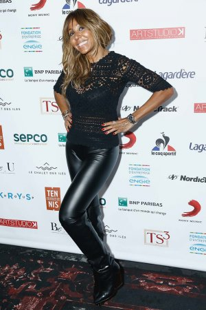 Cathy Guetta attends Fete le Mur Celebration 20th Anniversary