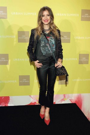 Cathy Hummels attends KONEN Urban Summer-Fashion Show