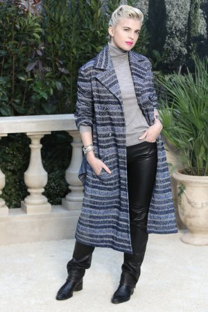 Cecile Cassel attends Chanel show