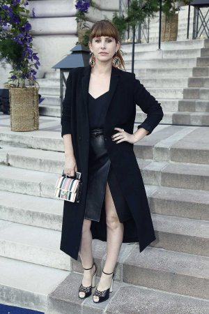 Cecile Togni attends the Sonia Rykiel & Lancome Paris Party