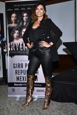 Cecilia Galliano at Press Conference to promote Invencibles
