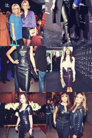 Celebs attend MBFW Berlin