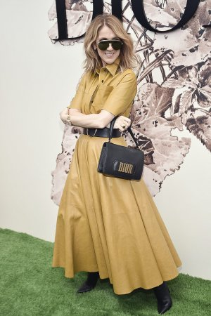 Celine Dion attends Christian Dior show