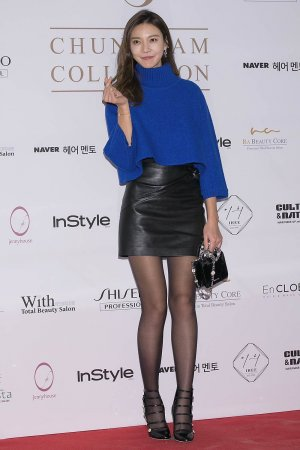 Cha Ye-Ryun attends the photocall for CHUNGDAM Collection