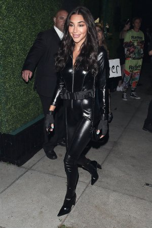 Chantel Jeffries attends The Casamigos Halloween Party