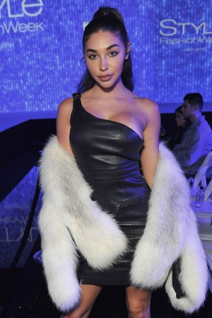 Chantel Jeffries attends the debut of Thomas Wylde's 'Warrior II' collection