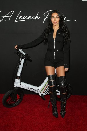 Chantel Jeffries attends Wheels launch party