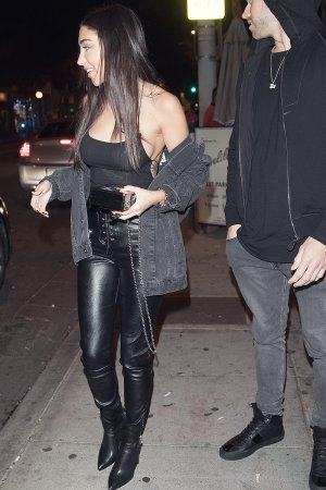Chantel Jeffries is seen leaving Delilah