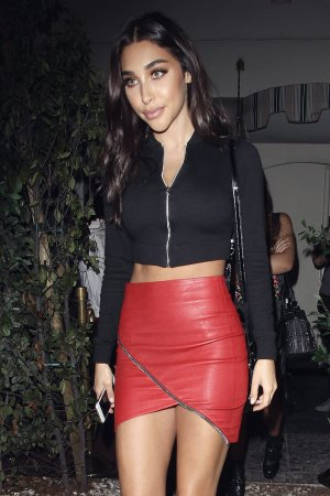 Chantel Jeffries seen at Delilah