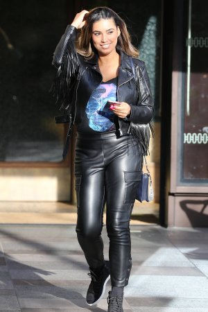 Chantelle Heskey at London ITV Studios