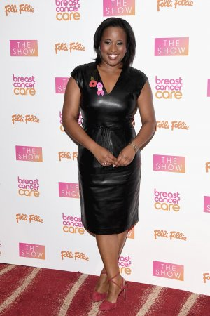 Charlene White attends the Breast Cancer Care London Fashion Show