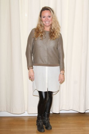 Charlie Brooks attends Beautiful Thing photocall
