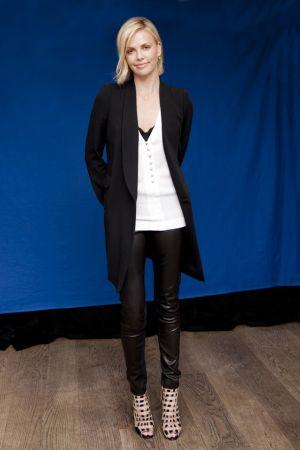 Charlize Theron Armando Gallo Portraits Press Conference