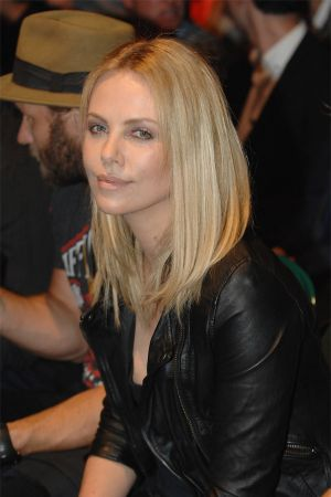Charlize Theron at UFC 146