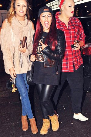Charlotte Crosby & Sophie Kasaei out in Newcastle