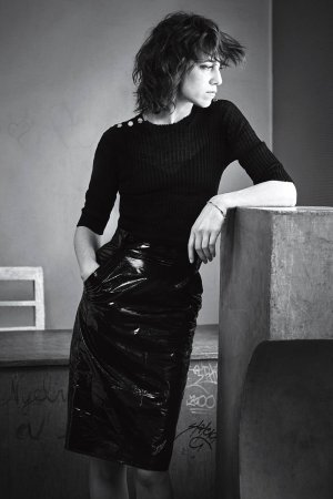 Charlotte Gainsbourg photoshoot for InStyle 2016
