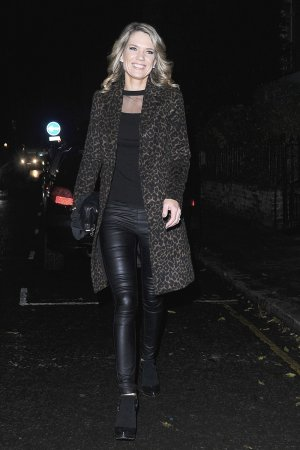 Charlotte Hawkins attends Piers Morgan's Christmas Party