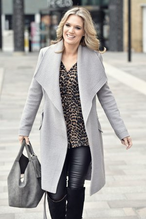Charlotte Hawkins leaving Soho House