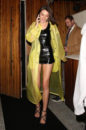 Charlotte Lawrence arrives at The Nice Guy
