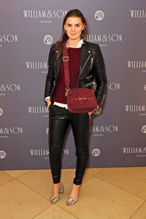 Charlotte Rey attends the William & Son Gala cocktail party