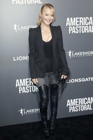 Charlotte Ross arrives at the premiere of American Pastoral