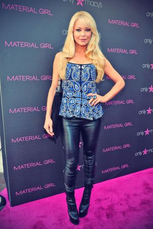 Charlotte Ross at Madonna's iconix Fashion Pieces in Century City