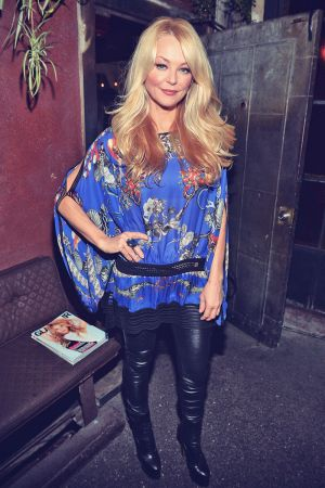 Charlotte Ross attends a Party to celebrate Glamour Hearts Tinder