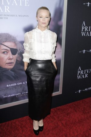 Charlotte Ross attends Aviron Pictures A Private War premiere
