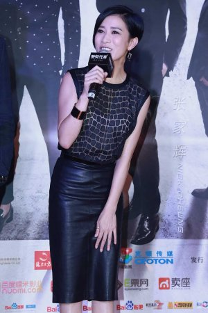 Charmaine Sheh attends the premiere of Line Walker