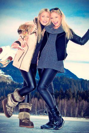 Chayenne and Valentina Phade at Winter Holidays