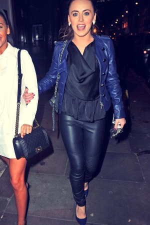 Chelsee Healey at Sakuna Restaurant Manchester