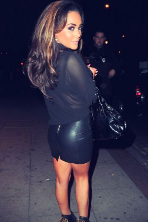 Chelsee Healey Manchester candids