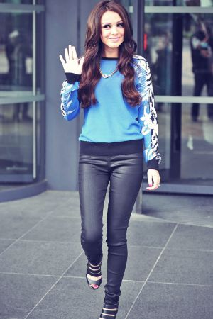 Cher Lloyd at the BBC Breakfast Studios