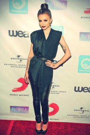 Cher Lloyd attends NARM Music Biz Awards dinner party