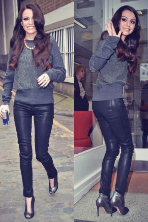 Cher Lloyd out and about in London