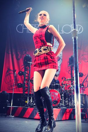 Cher Lloyd Performing at the Nokia Theatre in LA